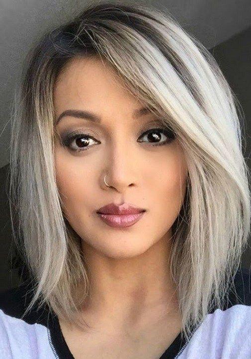 33 Elegant Bob Hairstyles For Womens 2018 Bob Hairstyles Medium Bob Haircut Hair Styles