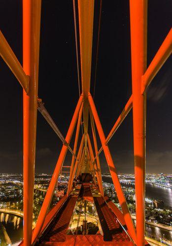 A'DAM toren - Panoramaview over Amsterdam. bij www.werkaandemuur.nl te bestellen