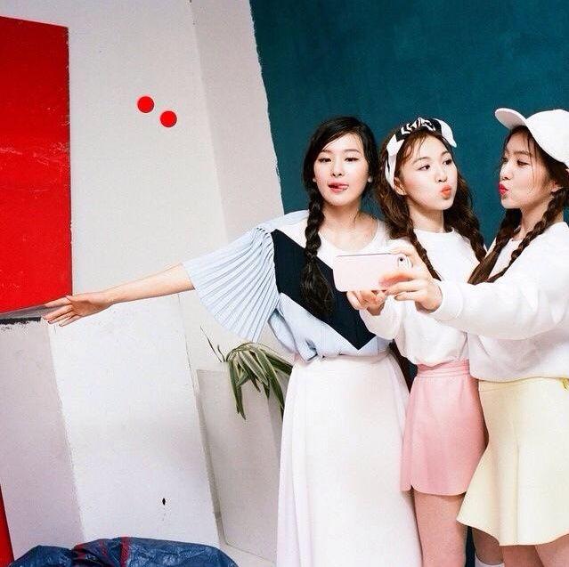 Pre debut레드벨벳 Red Velvet Seulgi 슬기, Wendy웬디,Irene 아이린
