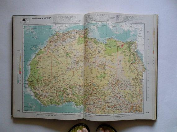 Big vintage world atlas book vintage maps book of by gtdesigns big vintage world atlas book vintage maps book of by gtdesigns 7300 gumiabroncs Choice Image
