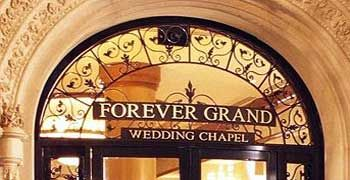 Forever Grand Wedding Chapel The Mgm Las Vegas Weddings Vegas Wedding Las Vega Nv