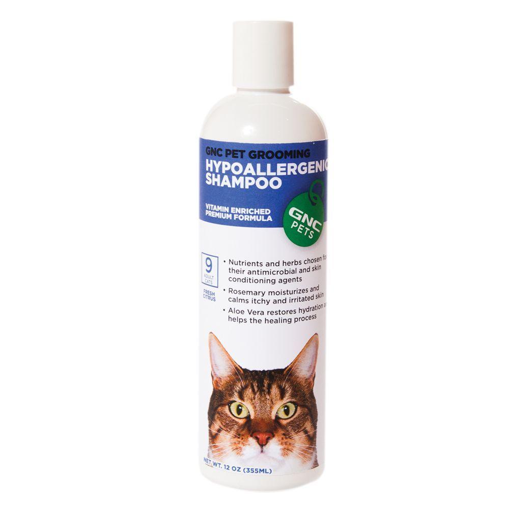 Gnc Pets Pet Grooming Hypoallergenic Cat Shampoo Fresh Citrus Size 12 Fl Oz Yellow Cat Shampoo Hypoallergenic Cats Pet Grooming