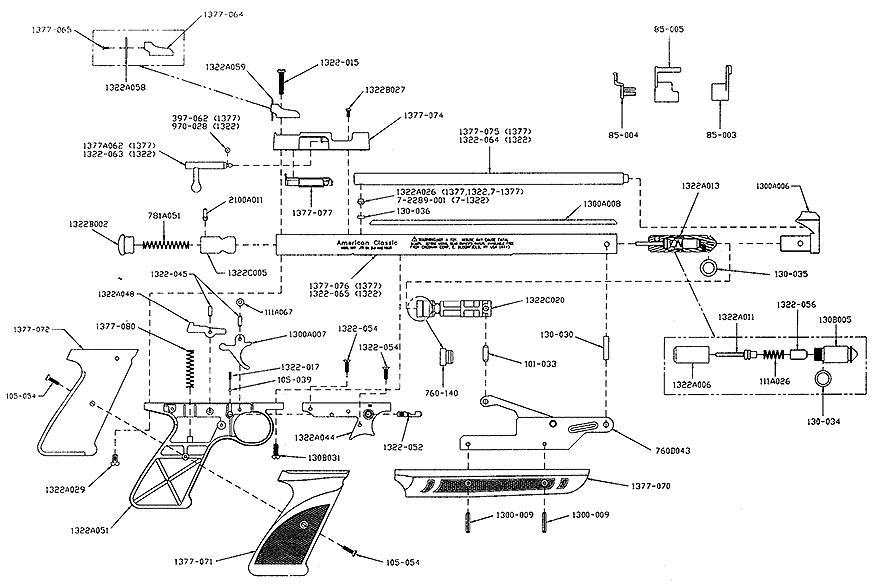 crosman 760 d parts manual