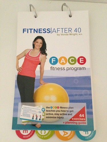 FITNESS AFTER 40 BY VONDA WRIGHT M.D. FACE FITNESS PROGRAM  44 EXERCISES AEROBIC