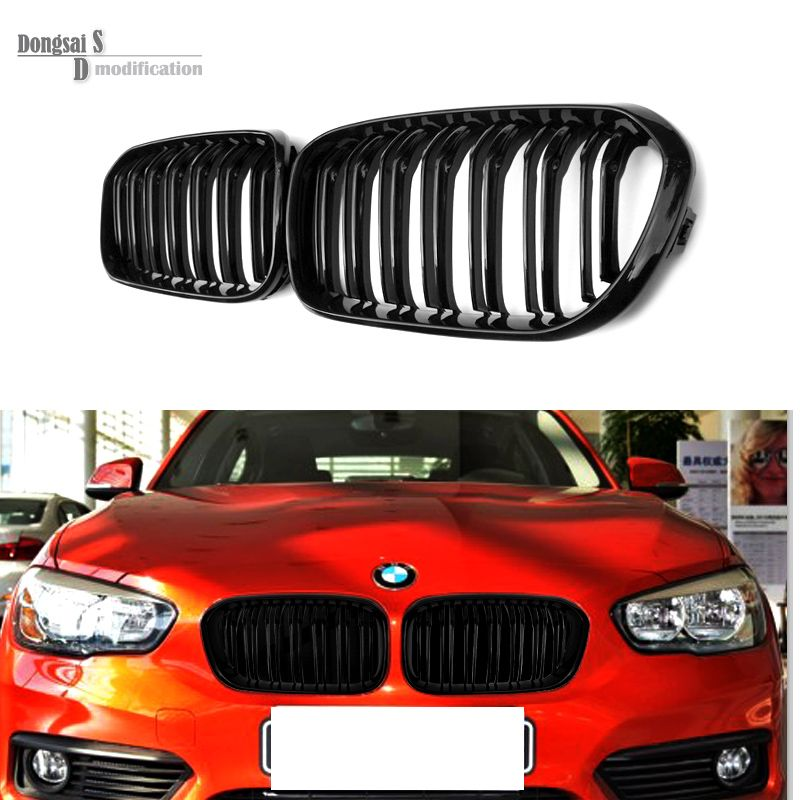 1 series F20 F21 2015 + M style black front mesh grill grille for BMW 1 series F20 2015 + 118i 116i 120i 125i 135i