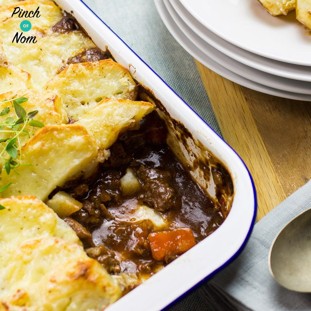 This Half Syn Cumberland Pie is ridiculously easy to make ...
