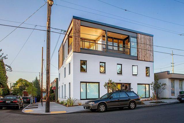 Modern Architecture Portland gragg apartment building potestio studio eight gems of modern