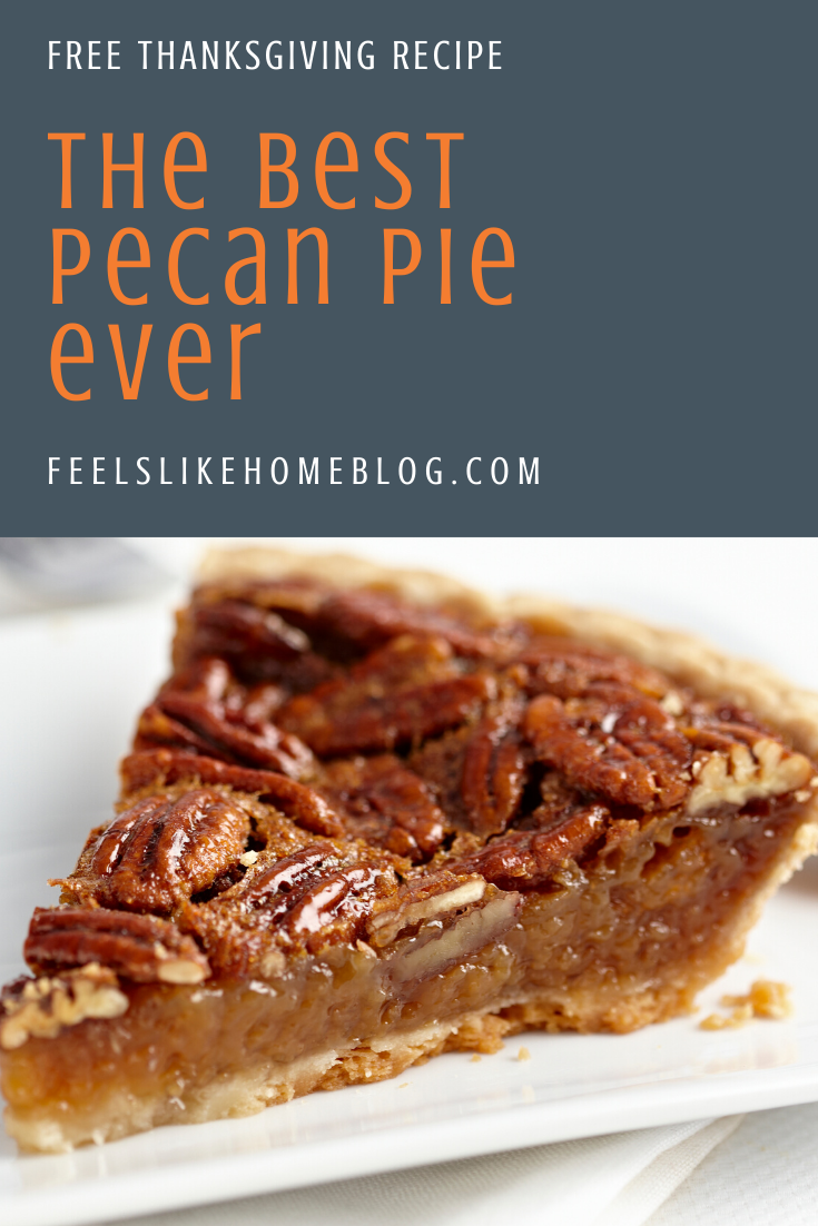 The best easy homemade pecan pie recipe