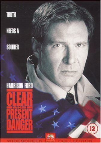 Clear And Present Danger 1994 Harrison Ford Willem Dafoe Anne Archer Joaquim De Almeida Henry Czerny H Harrison Ford Good Movies Movies Worth Watching