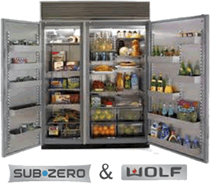 Dream Pantry With Fridge