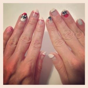 The Stylemaker: Carolyn Braden: Roy Lichtenstein Inspired Nail Art