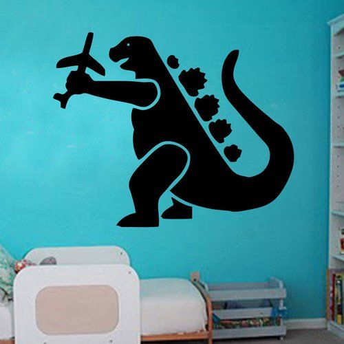 Wandtattoo Dinosaurier Flugzeug East Urban Home Farbe