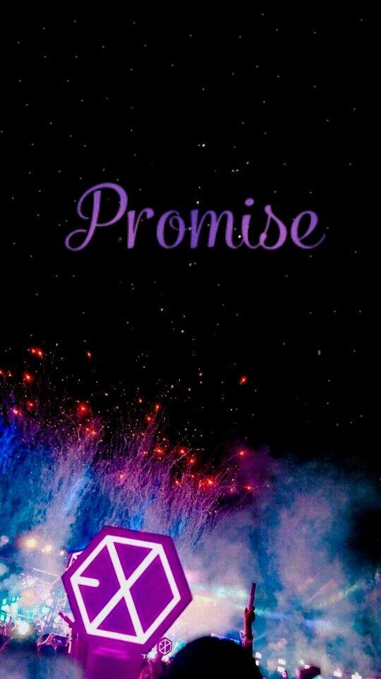 Exo Wallpaper Exo Promise Lightstick Ocean Chanyeol Do