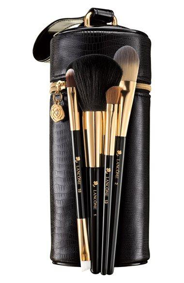 Lancome Pro Secrets Brush Set Limited Edition Usd 143 50 Value Nordstrom Lancome Makeup Eye Makeup Brushes Makeup Collection