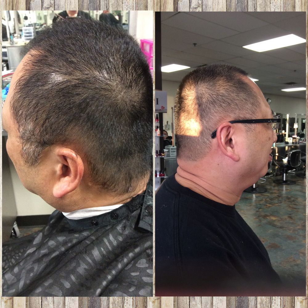 40++ Haircut with a 1 guard inspirations
