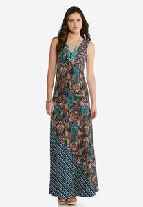 6ff4d0bec08e Plus Size Pop Of Paisley Maxi Dress | clothes i like | Pinterest ...