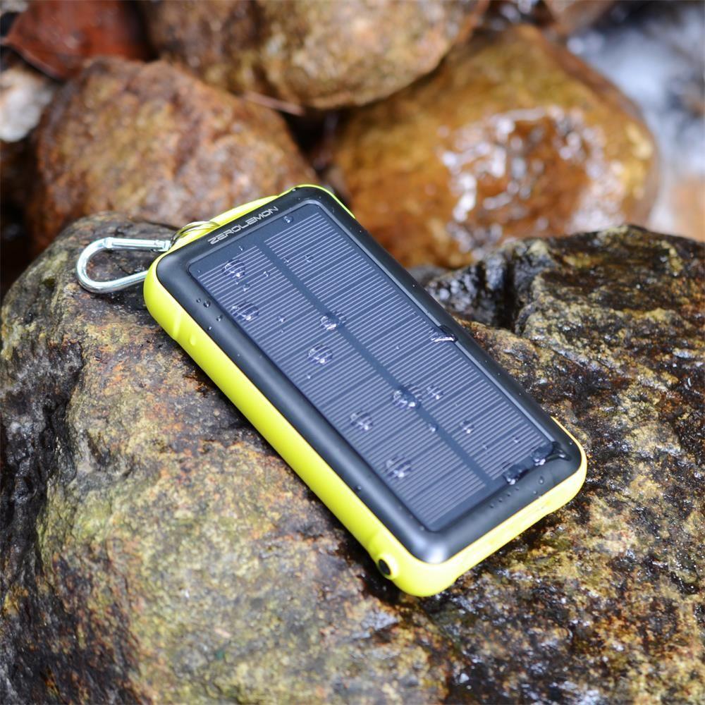 SolarJuice 20000mAh Solar Powered Rugged External Battery