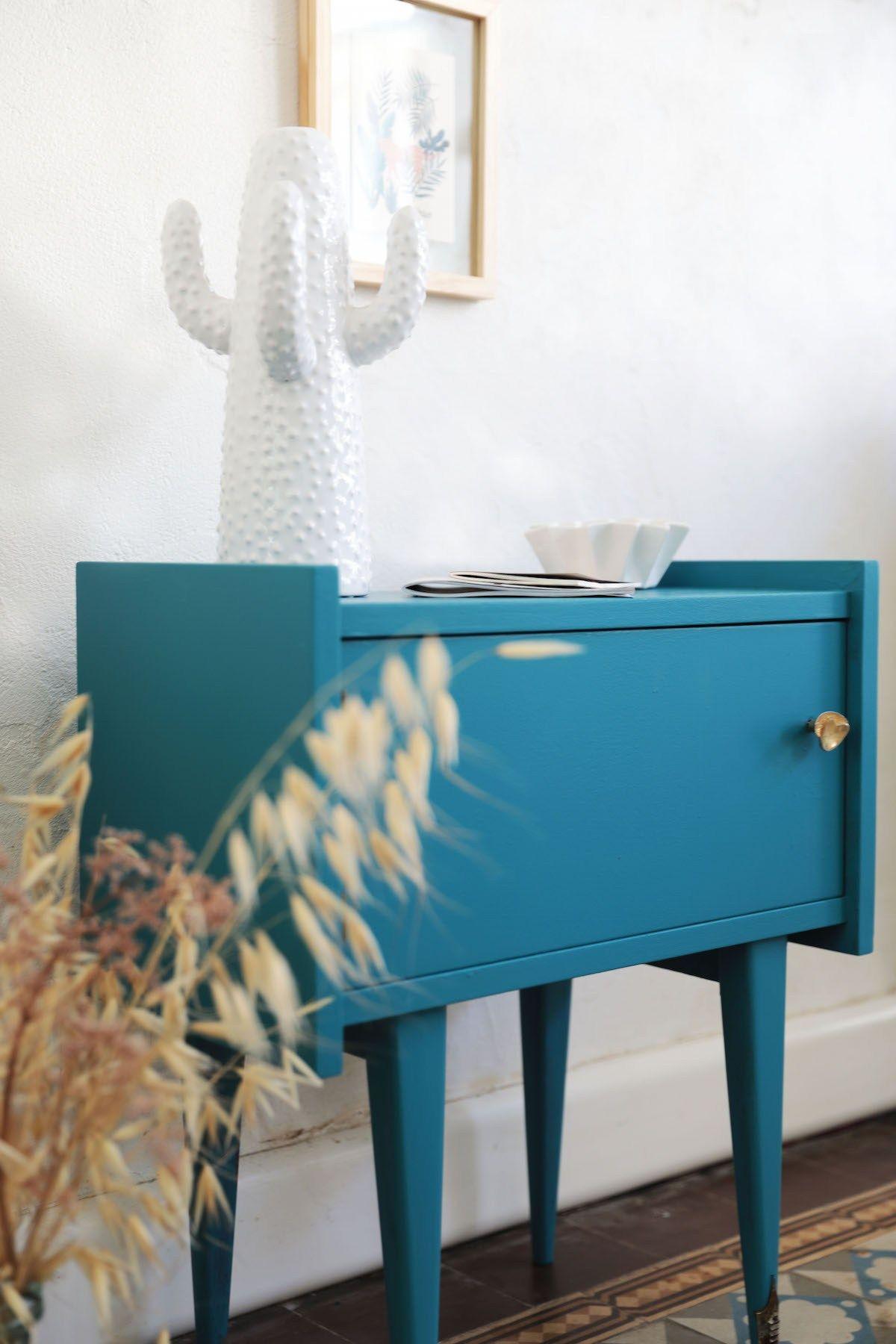 Peinture Meuble Sans Décapage repeindre un meuble vintage sans le décaper et sans sous