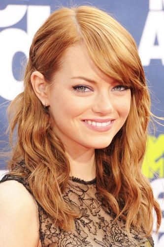 Emma Stone S Strawberry Blonde In 2020 Emma Stone Blonde Emma