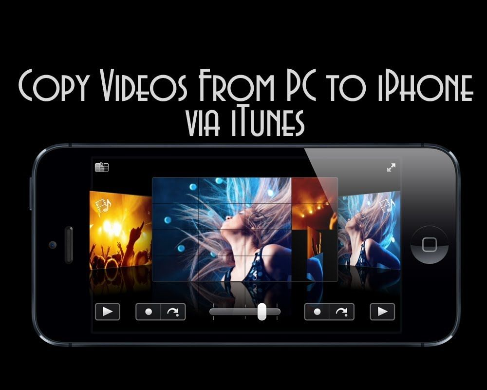 How to transfer videos from pc to iphone iphone videos