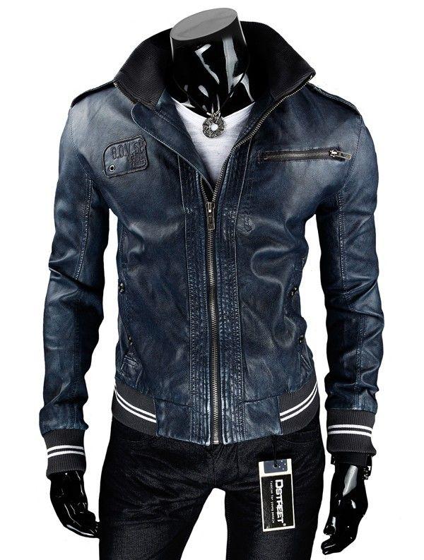 Vente veste simili cuir homme