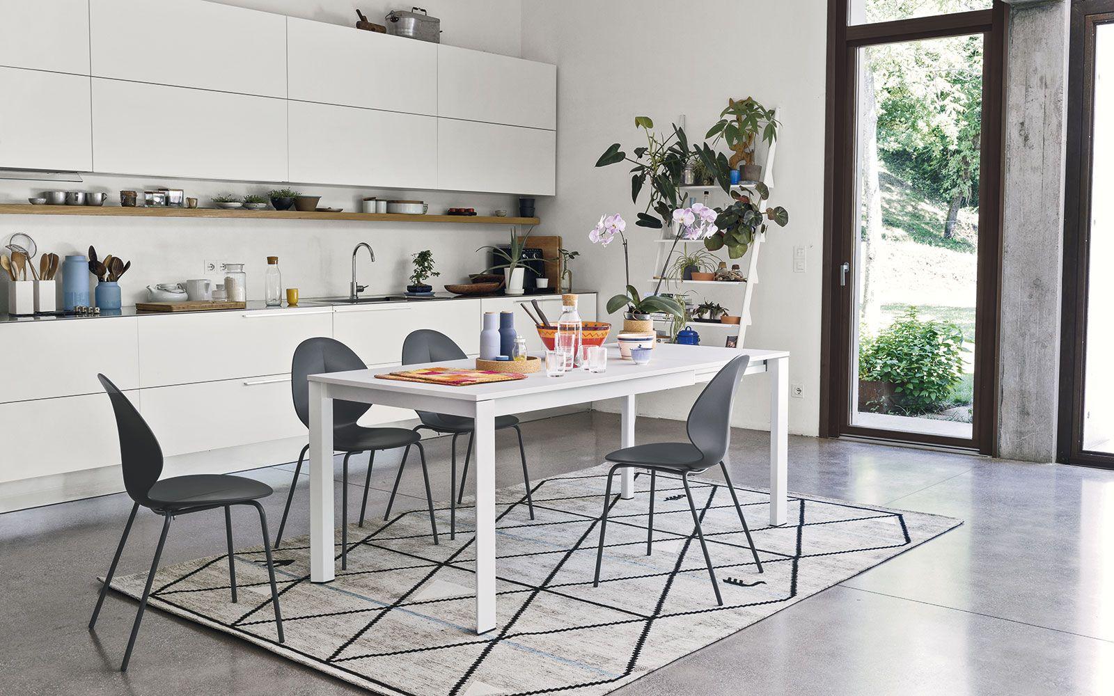 Tavolo Duca Calligaris bianco | el salón | Pinterest | Tavolo, Sedie ...