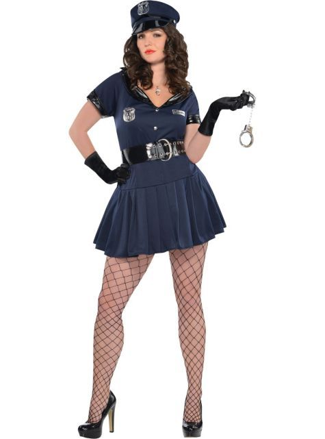 Adult Officer Rita Dem Rights Police Costume Size - Womens -5704