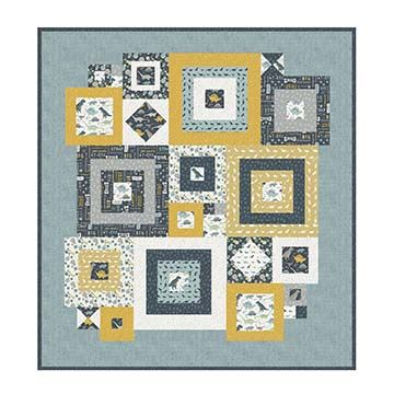 Deena Rutter Squared Away Quilt Pattern