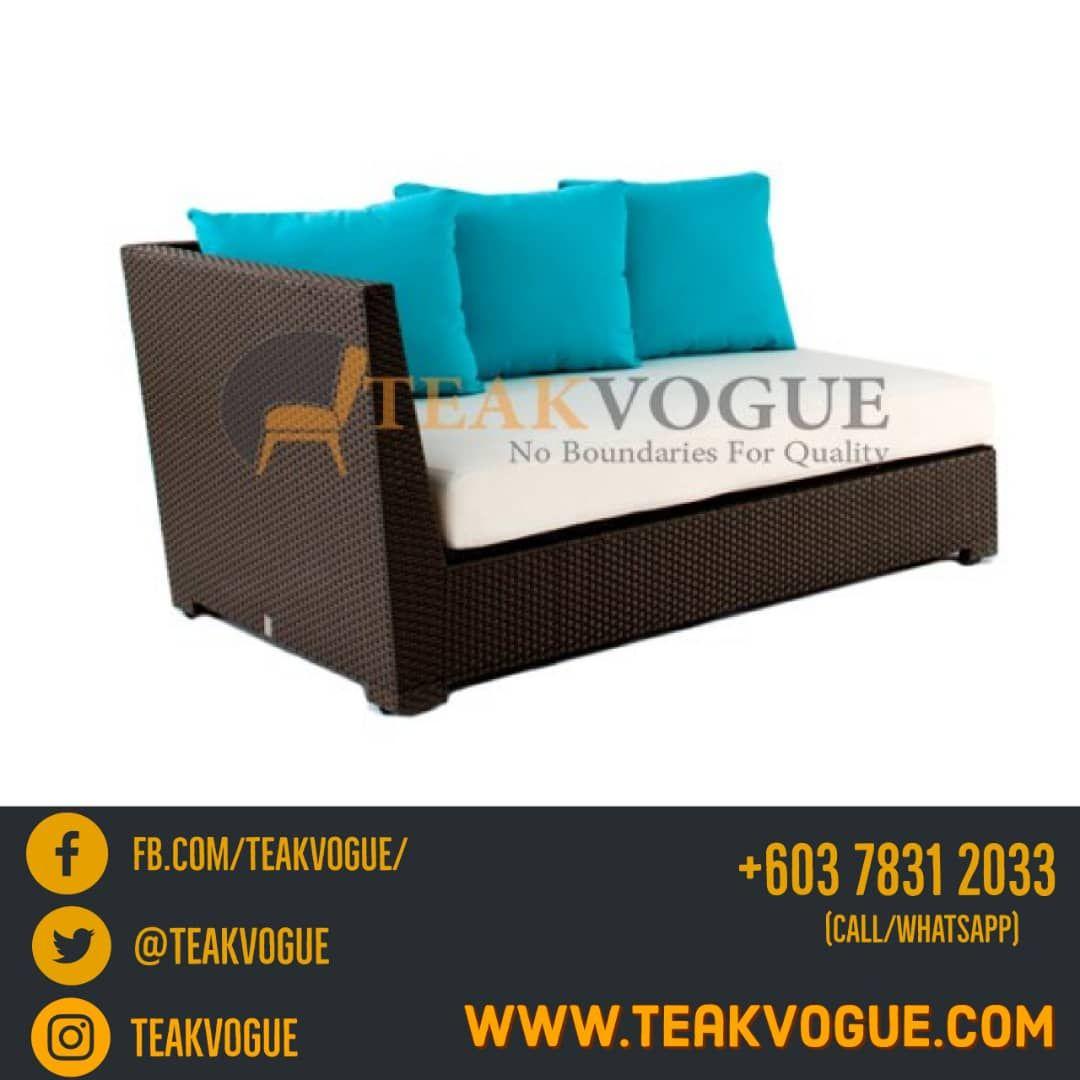Wicker Sofas Malaysia Quality Rattan Sofas Supplier Wicker Sofa Outdoor Wicker Sofa Poolside Furniture
