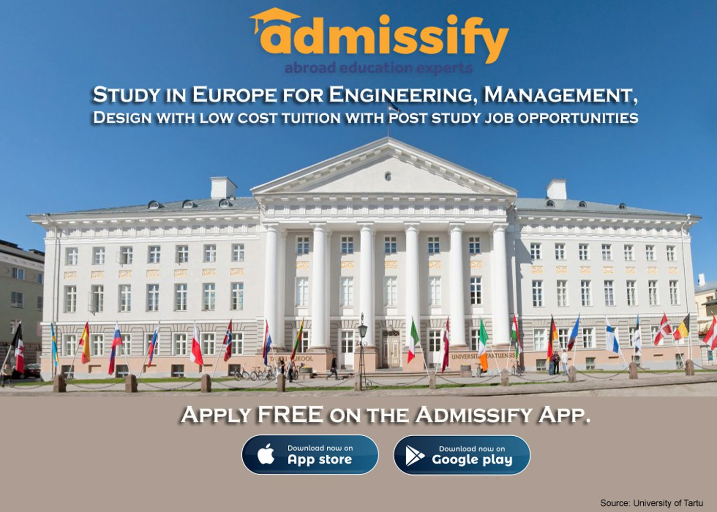 Study in Europe for Engineering, Admissify Overseas