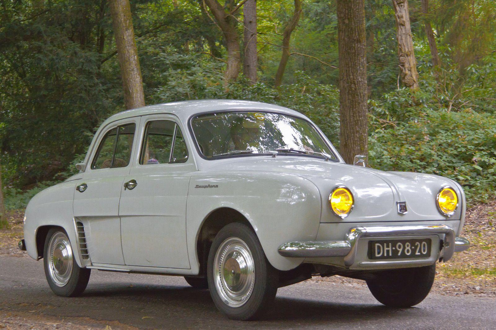 Renault Dauphine 1960 3565 Classic Cars Vintage Classic Cars Motor Car