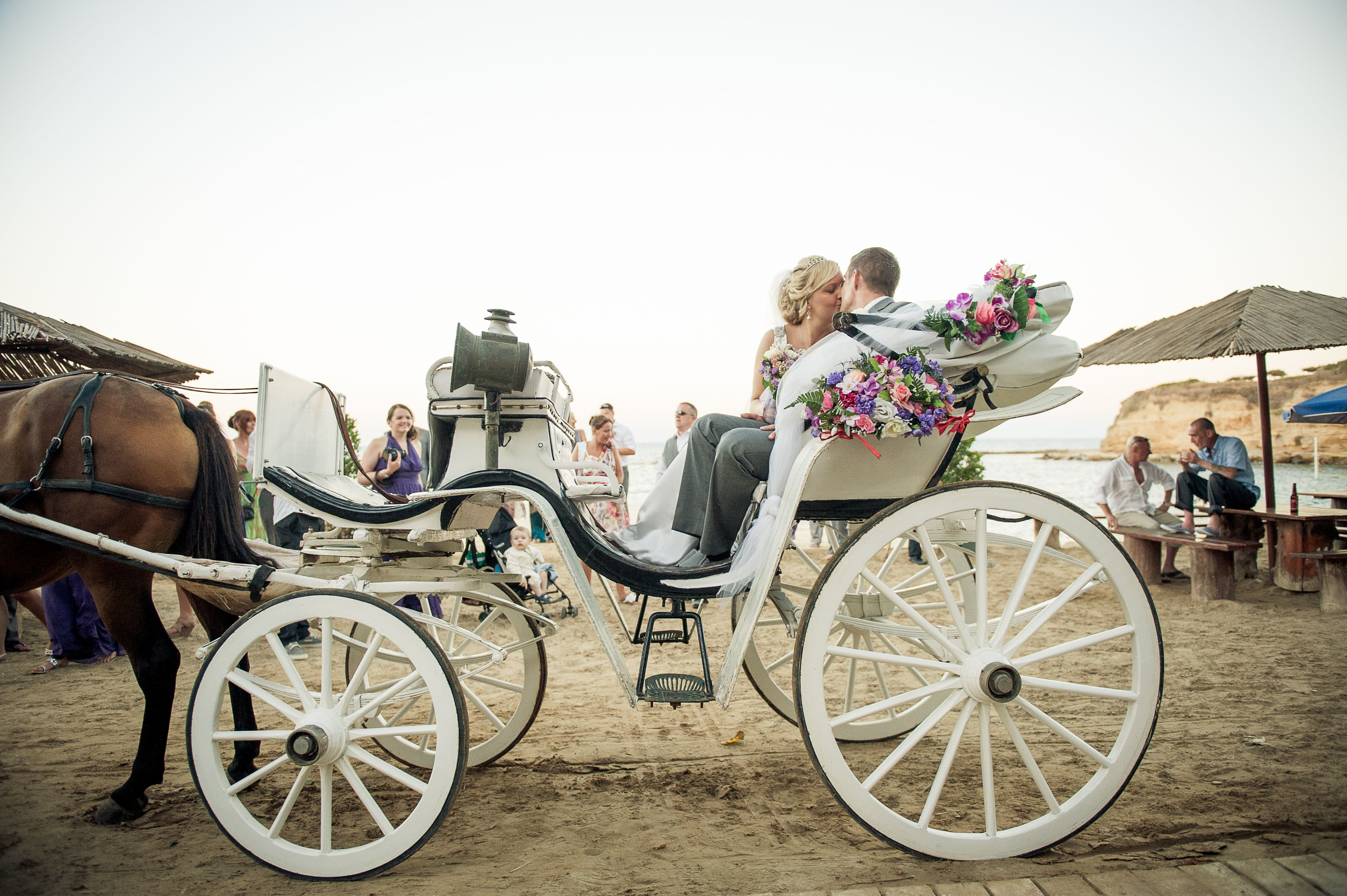 Horse & Carriage | 3.15.15 <3 | Pinterest | Weddings