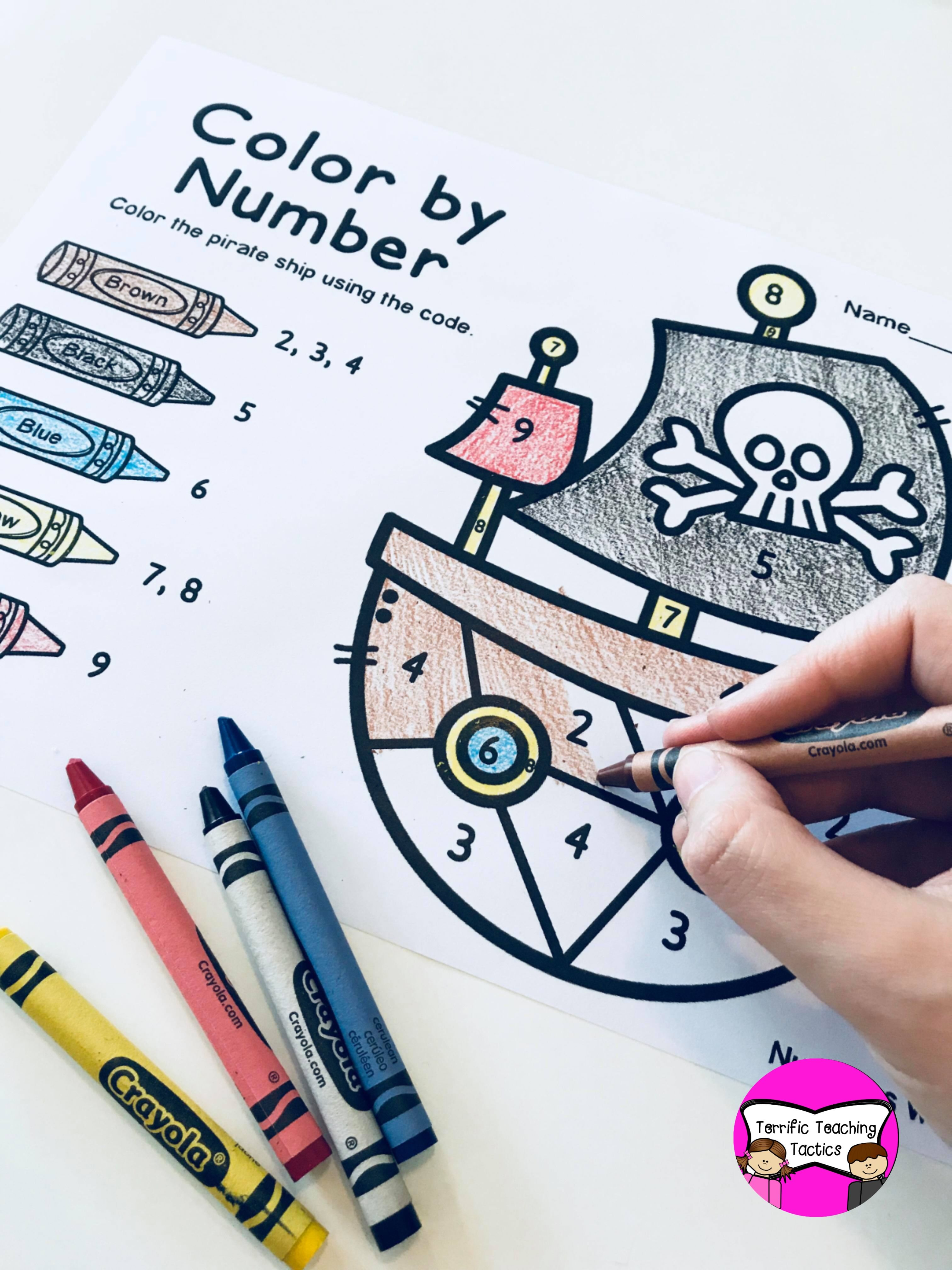 Pirate Math Worksheets For First Grade