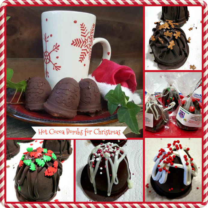 10+ Days of Hot Cocoa Bombs for Christmas 3 Winks Design