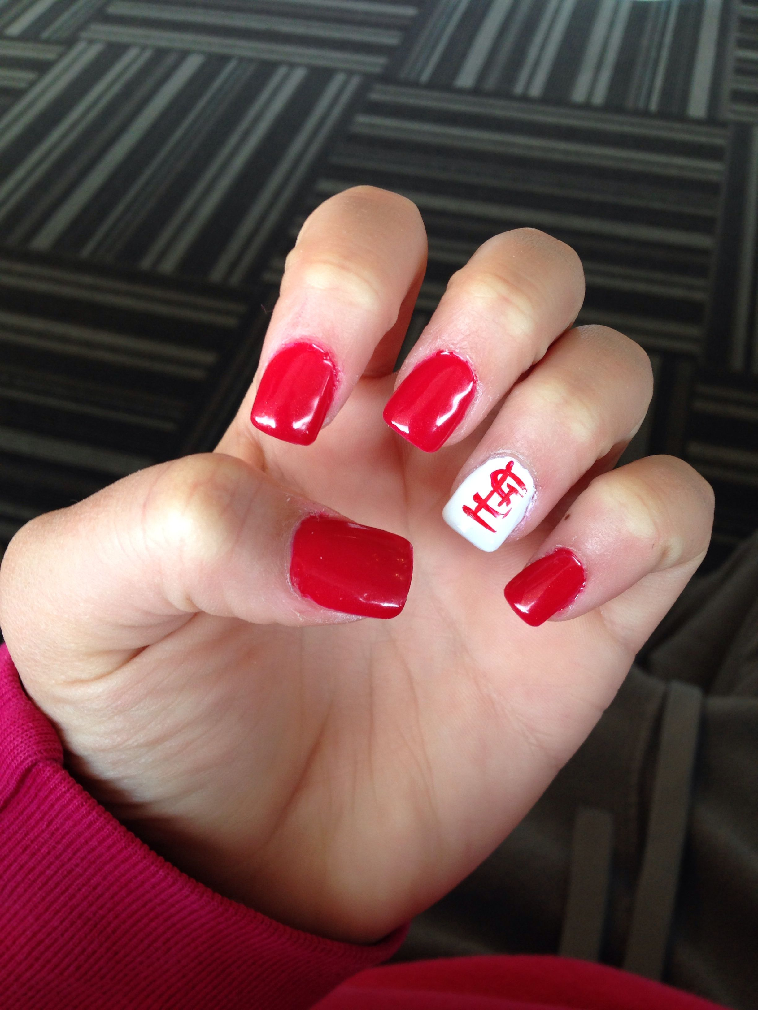 St Louis Cardinal Nails Nails Pinterest St Louis Cardinals
