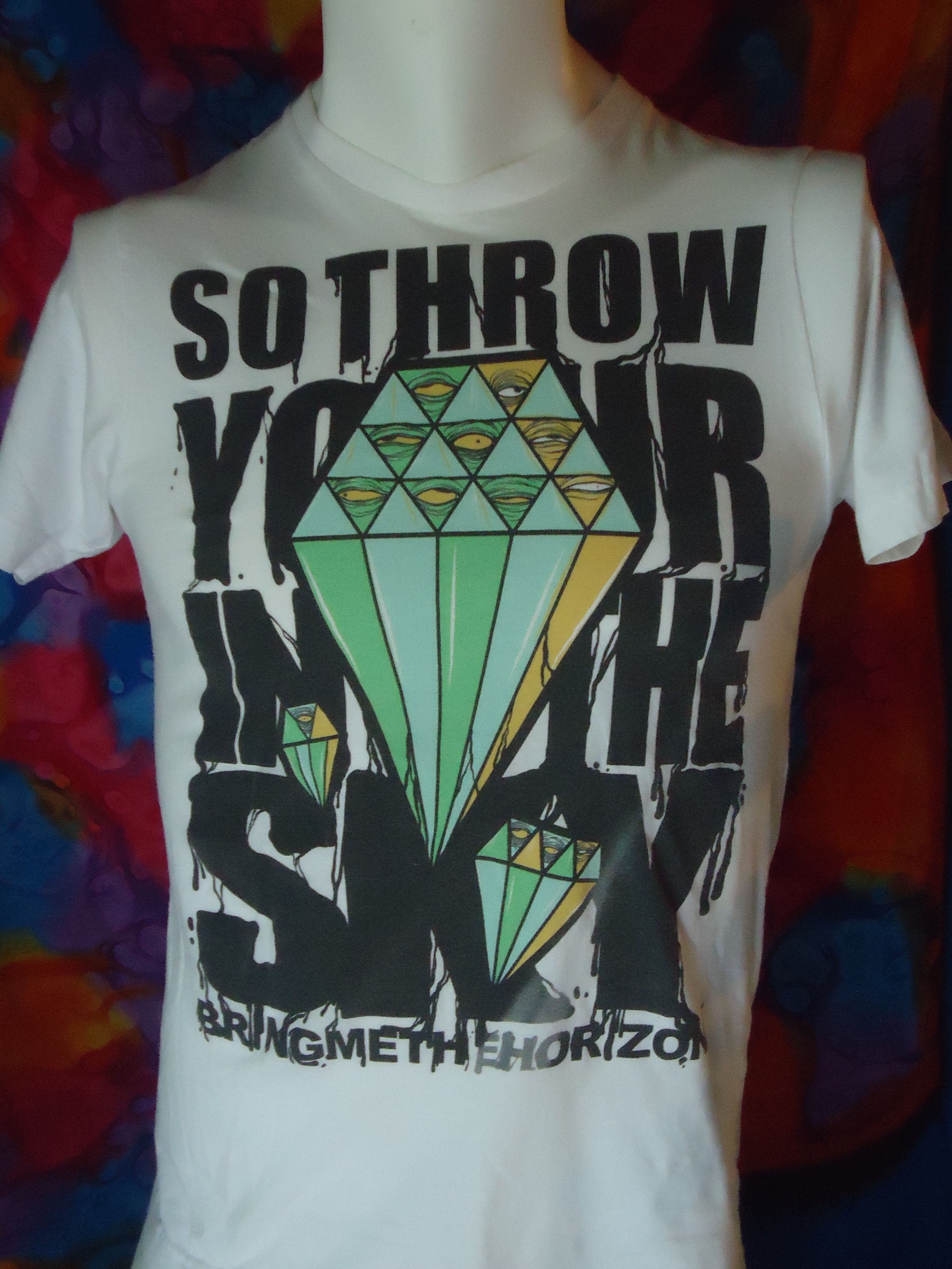 98ce981a2 Vintage - Bring Me The Horizon - So Throw Your Diamonds In The Sky - T-shirt  - S