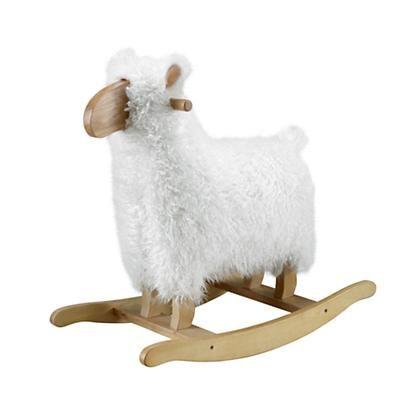 Pleasing The Land Of Nod Sheep Rocker In New To Sale Kid Spaces Inzonedesignstudio Interior Chair Design Inzonedesignstudiocom