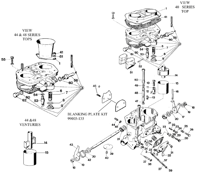 Weber Idf Carburetor Diagram Break Down