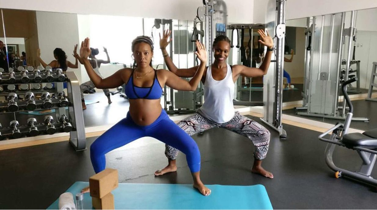 Mama Glow: 5 Yoga Poses That Will Help Pregnant Women Prepare For A Seamless Birth   xoNECOLE