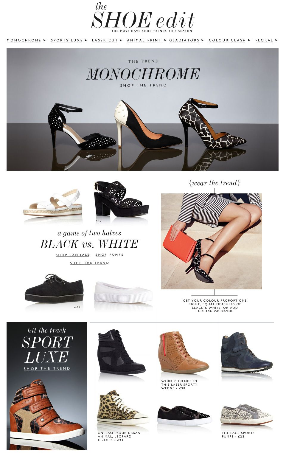 The Shoe Edit | Womens Footwear Trends | Next Official Site