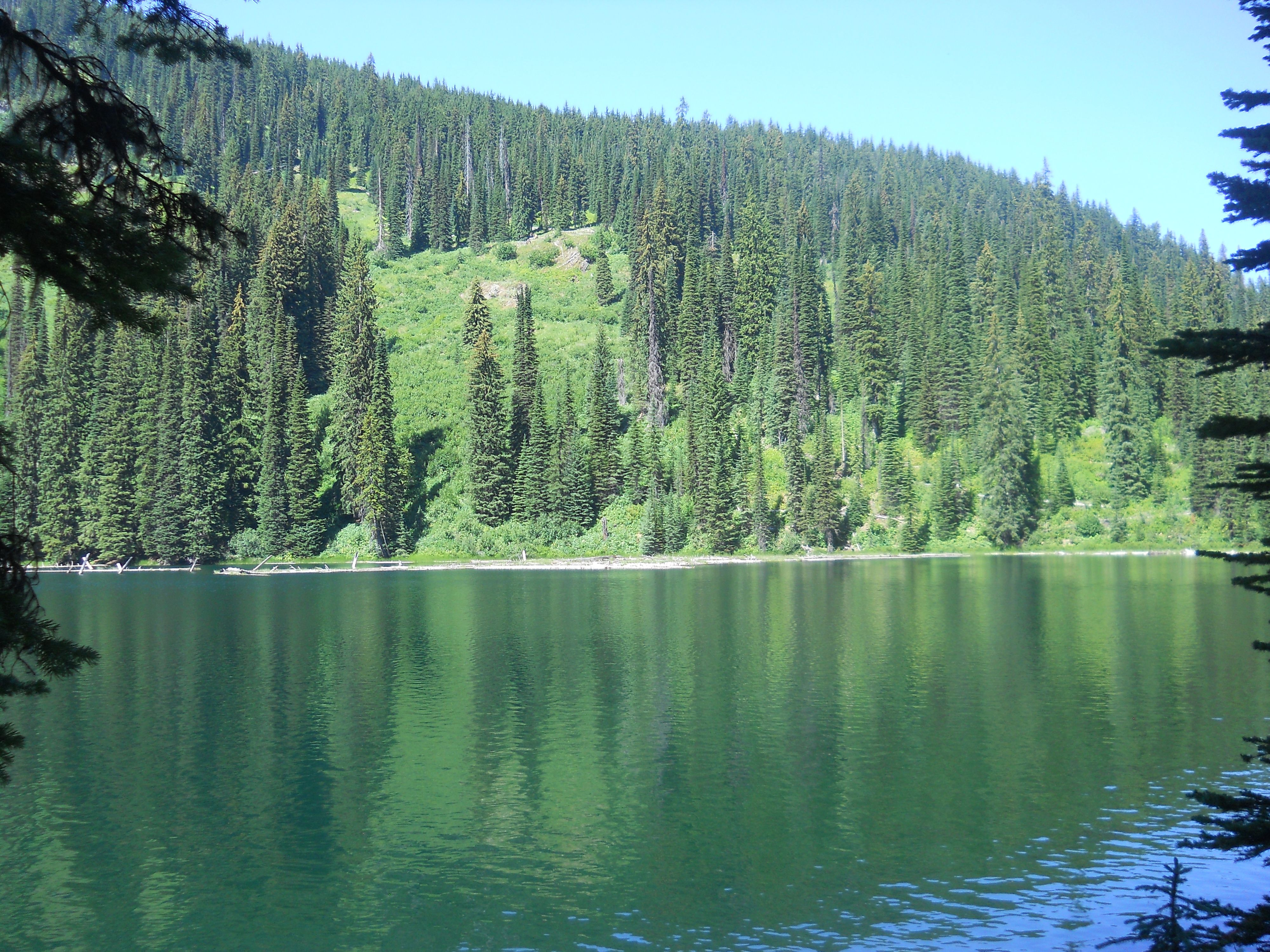Moore Lake Outside Of St Regis Montana