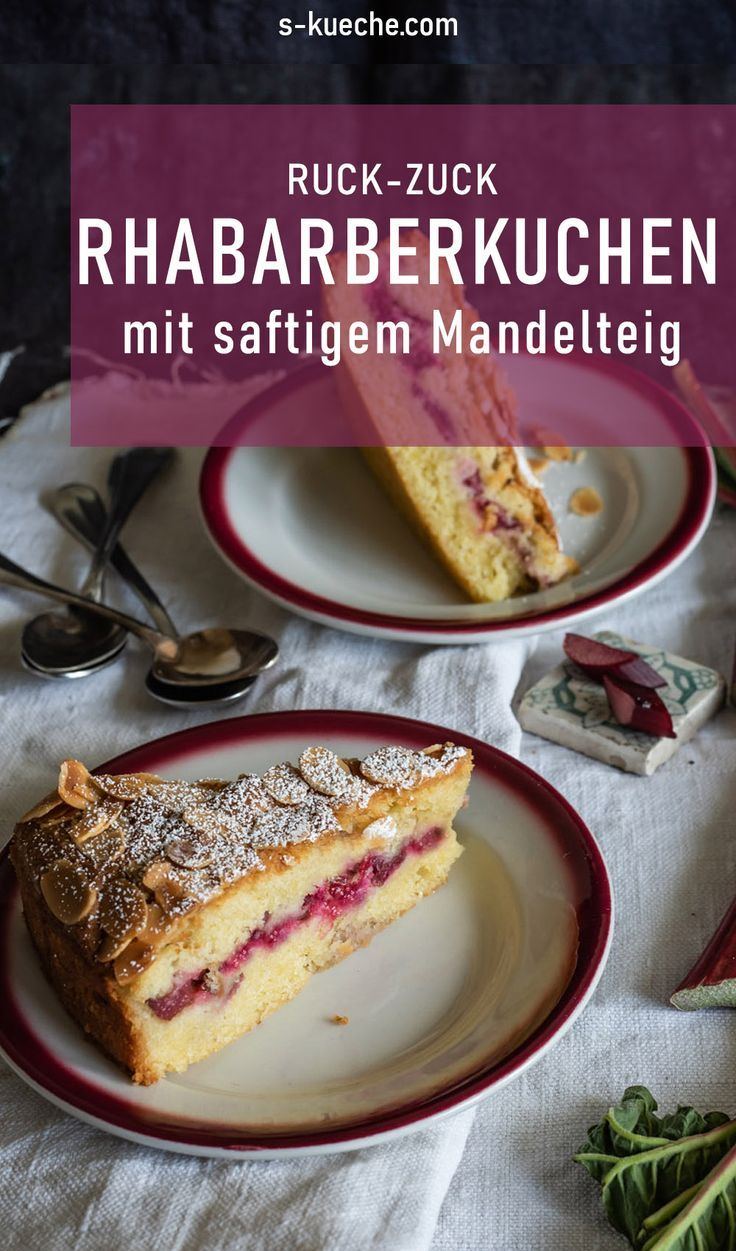 Photo of Ruck-Zuck Rhabarberkuchen mit so leckerem Mandelteig – Bakewell Cake