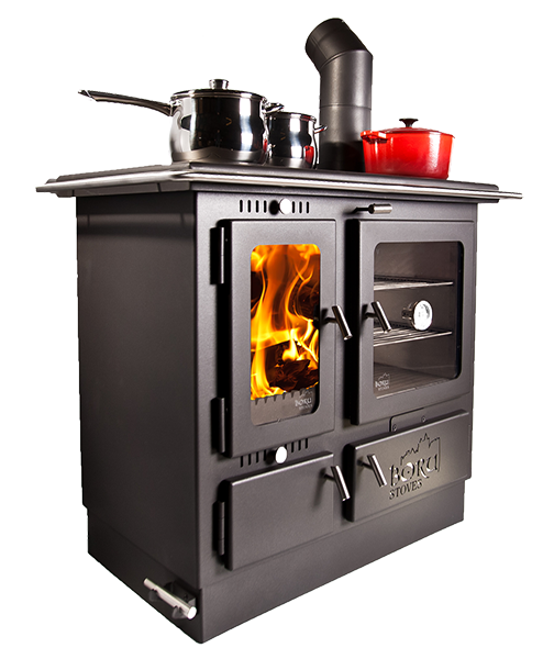 The Boru Ellis Wood Cook Stove Was Introduced In 2014 And Is Made In  Ireland. This Wood Burning Cook Stove Produces Up To BTUs To Not Only Cook  Your Food, ...