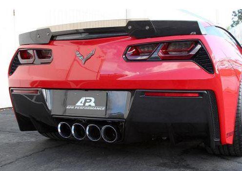 C7 Corvette Stingray Z06 Style Carbon Fiber Rear Spoiler By Apr Corvette Stingray Corvette Chevrolet Corvette Z06