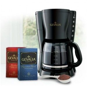 Gevalia Coffee Coffeemaker 4 Boxes Of Coffee Samples 9 99 Shipped Gevalia Coffee Gevalia Gevalia Coffee Maker