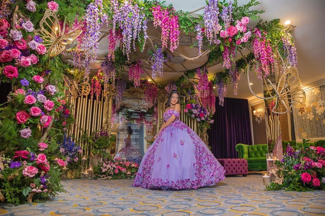Enchanted Forest Theme Quinceañera Inspiration