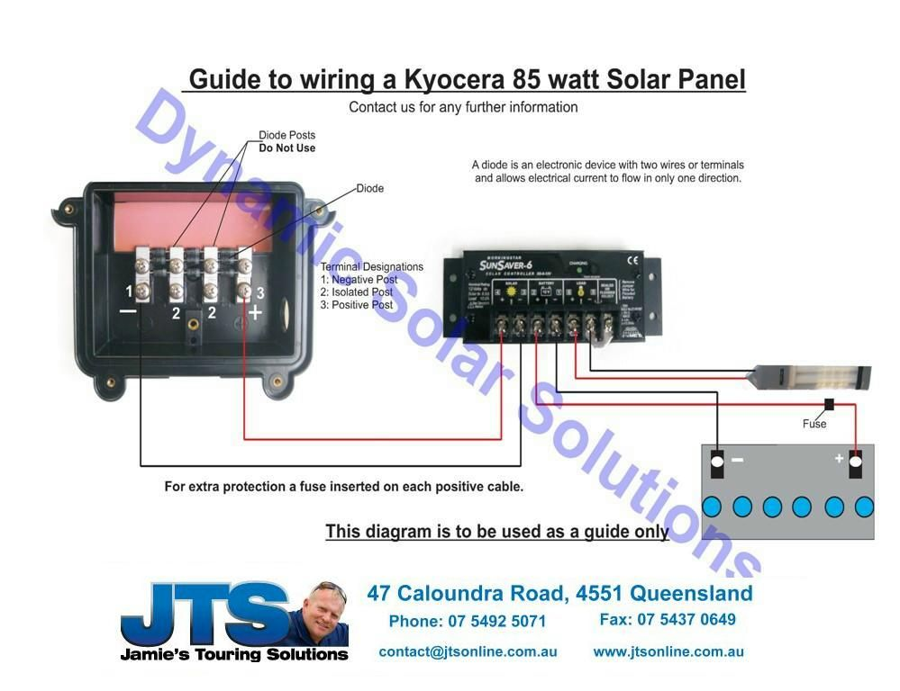 Kyocera solar panel wiring diagram explore schematic wiring diagram jamies 12 volt camper wiring diagrams solar pinterest diagram rh pinterest co uk solar cell wiring asfbconference2016 Images