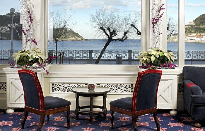 Vistas Hotel de Londres Y de Inglaterra San Sebastián.