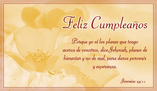Espanol Feliz Cumpleanos Free Christian Ecards Greeting Cards Spanish Birthday Wishes Happy Birthday Quotes Christian Birthday Cards