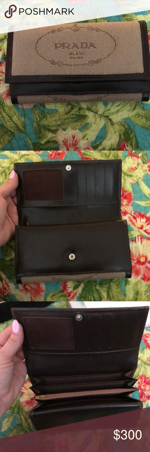 fe182130907e Vintage Prada Milano wallet In brand new condition , Vintage authentic Prada  Milano DAL 1913 ladies wallet . Amazing condition . Prada Bags Wallets